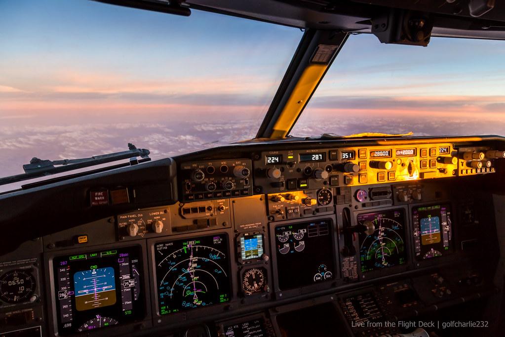 Commercial Pilot Wallpaper Hd Boeing 737 Cockpit Sunrise Canon 6d 24 105 F4 L Is