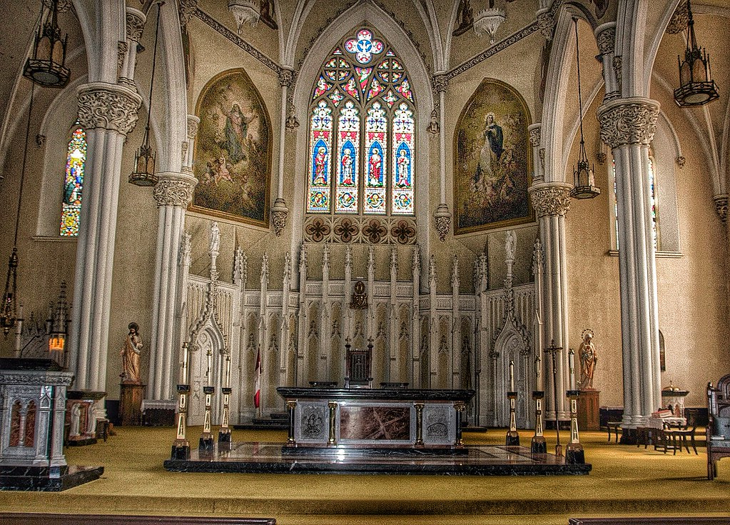Design Wallpaper 3d Kingston Ontario Canada Cathedral Of Saint Mary Of The