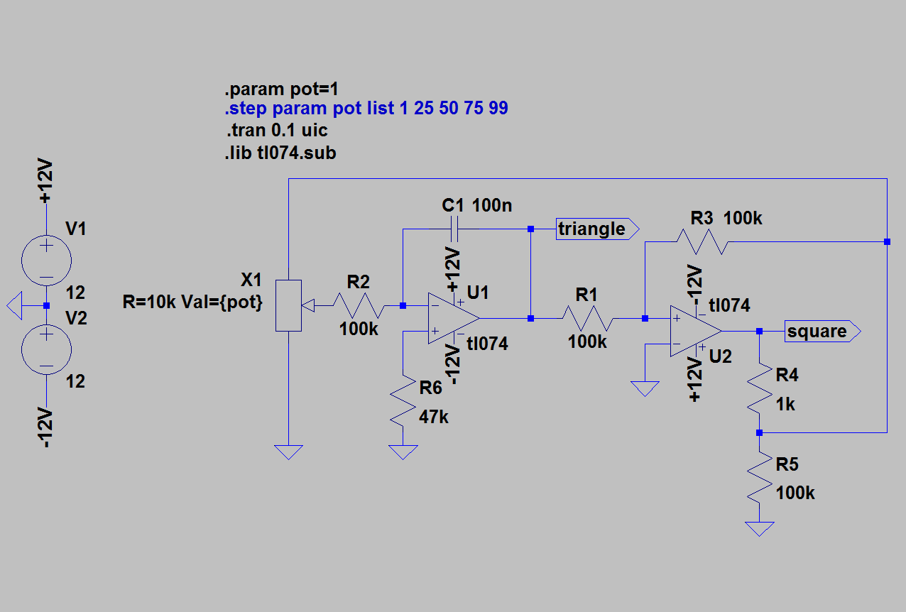 100 Basic Circuit Simulation With Ltspice Auto Electrical Wiring Microphone Preamplifier Bjt And Op Amp Youspice