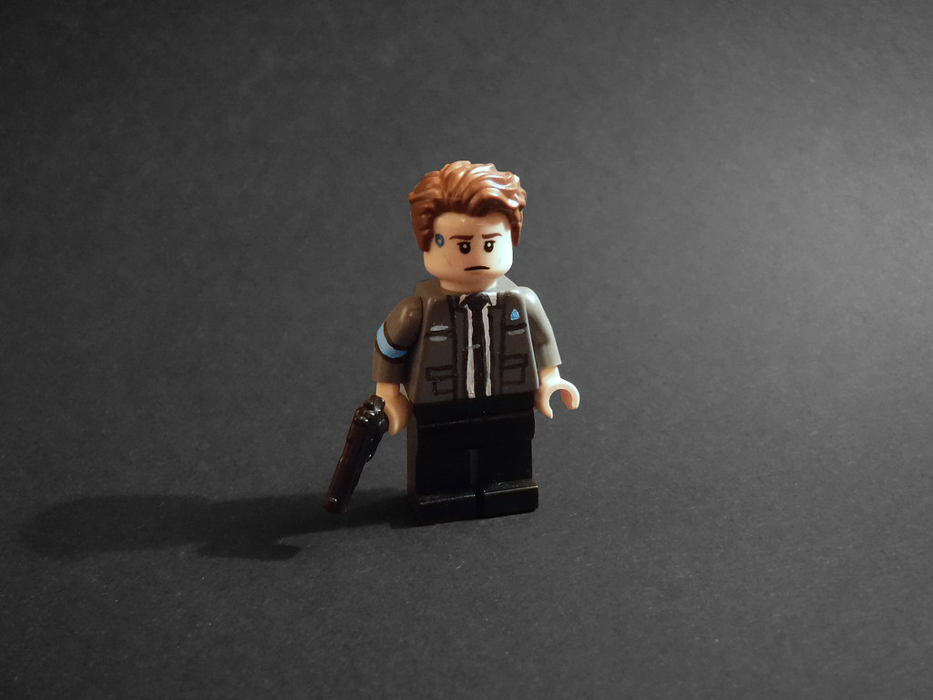 3d Action Wallpaper Hd Lego Connor Detroit Become Human Potential Spoilers