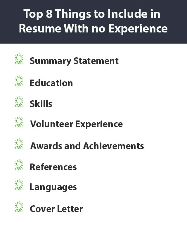 How to create a job-winning resume with no experience Resume101org