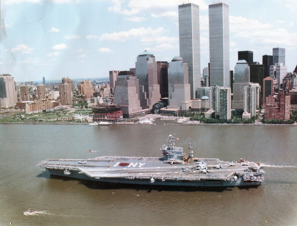 3d Wallpaper New York City Uss John F Kennedy Cv 67 I Came Across This In My