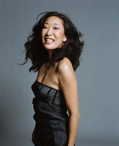 Wallpaper Black And White Girl Sandra Oh Oh So Sexy Athena Letrelle Flickr