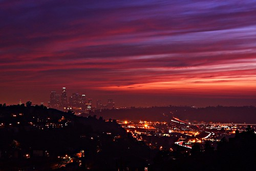 3d World Map Wallpaper For Pc Downtown Los Angeles Sunset Flickr Photo Sharing