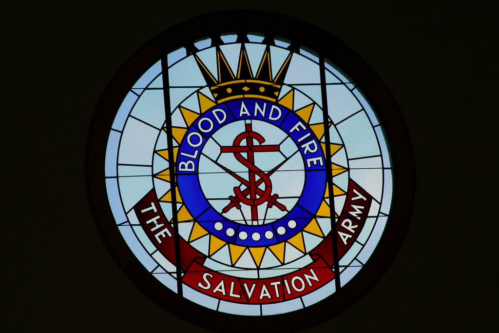 World Map Wallpaper Black And White The Salvation Army Crest A Stained Glass Representation