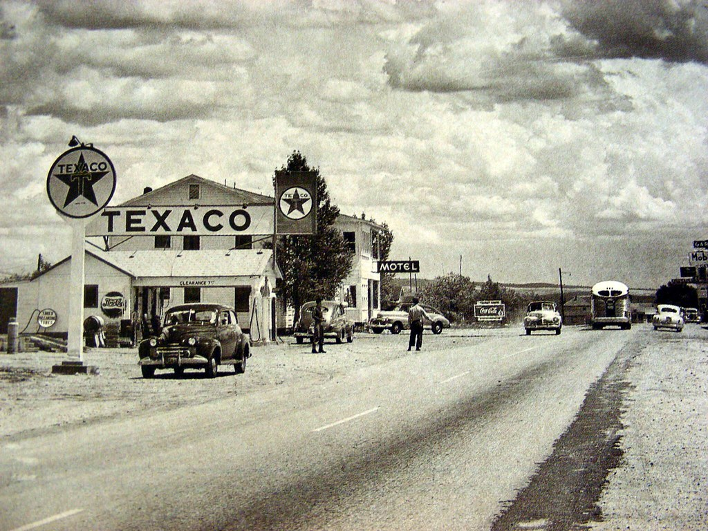 3d Wallpaper Before And After Seligman Az Route 66 Texaco Alt Close Up Close Up Of