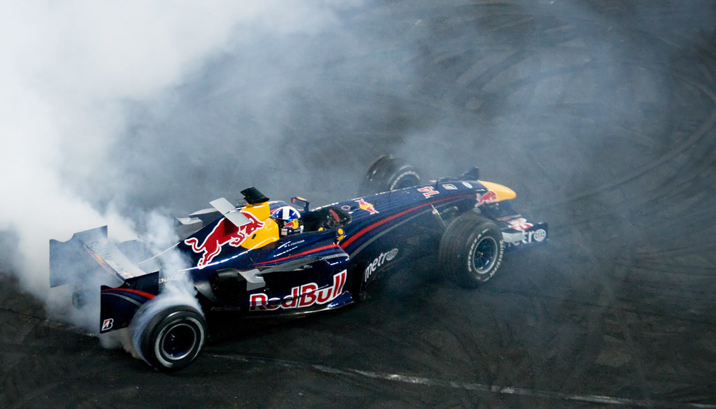 Car Wallpaper In 3d David Coulthard Red Bull Racing F1 David Coulthard