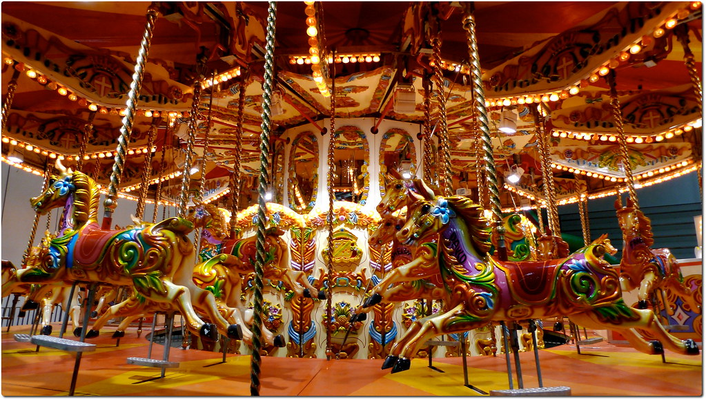 Some 3d Wallpapers Indoor Carousel View Large The Vivid Colours Of A