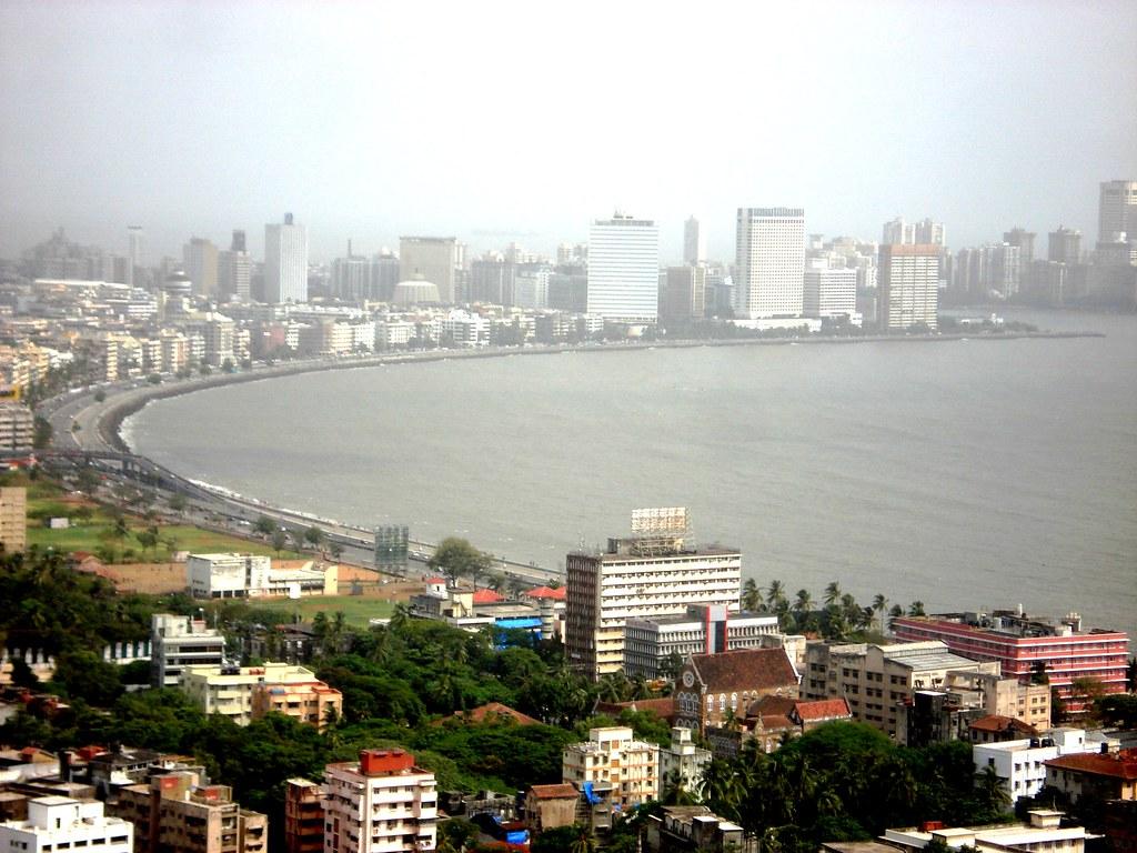 India Wallpaper 3d Mumbai Marine Drive Nackles View Mumbai India The