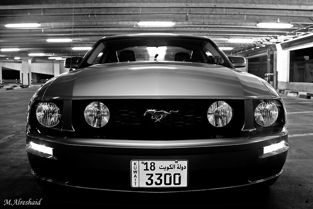 Classic Muscle Car Mobile Wallpaper Mustang In Black Amp White I Haven T Uploaded A Full Black