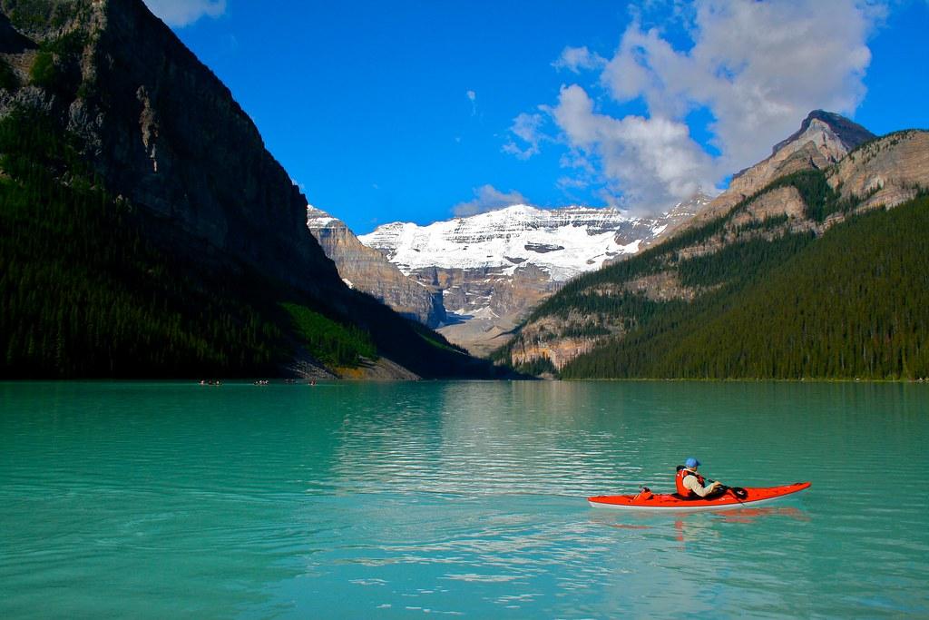 Great Scott Scott Mccloud Journal Kayak Lake Louise Ii Scott Glovsky Flickr