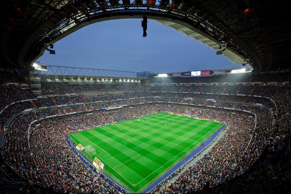 Real Madrid Wallpaper 3d Estadio Santiago Bernabeu The Santiago Bernabeu Stadium