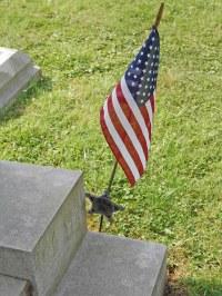 GAR Flag Holder at A.P.Davis' Tomb | GAR (Grand Army of ...