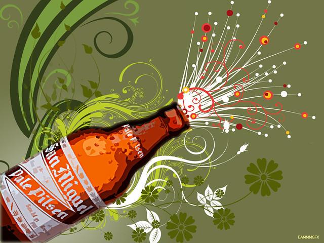 White 3d Wallpaper Hd San Miguel Beer Summer Burst Bammm2008 Flickr