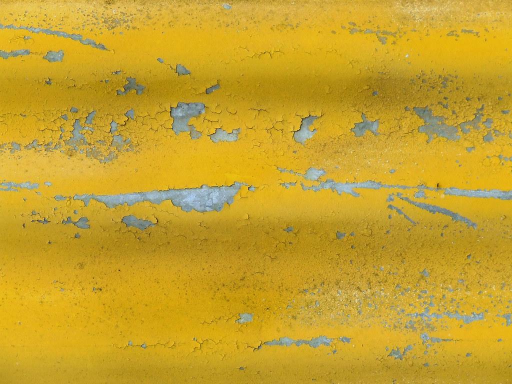 3d Wallpaper Love You Yellow Peeling Paint Texture Handmade Texture