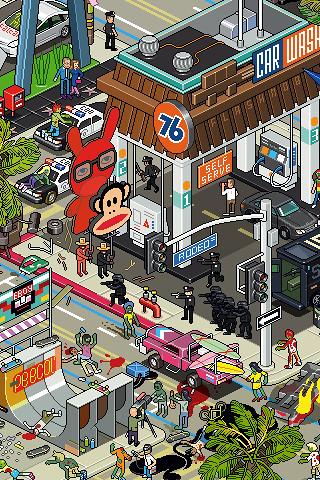 Wallpaper Los Angeles Iphone Los Angeles 2 Eboy Iphone Wallpaper Iphone Wallpaper