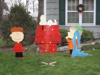 Peanuts Christmas Lawn Decorations | Merry Christmas ...