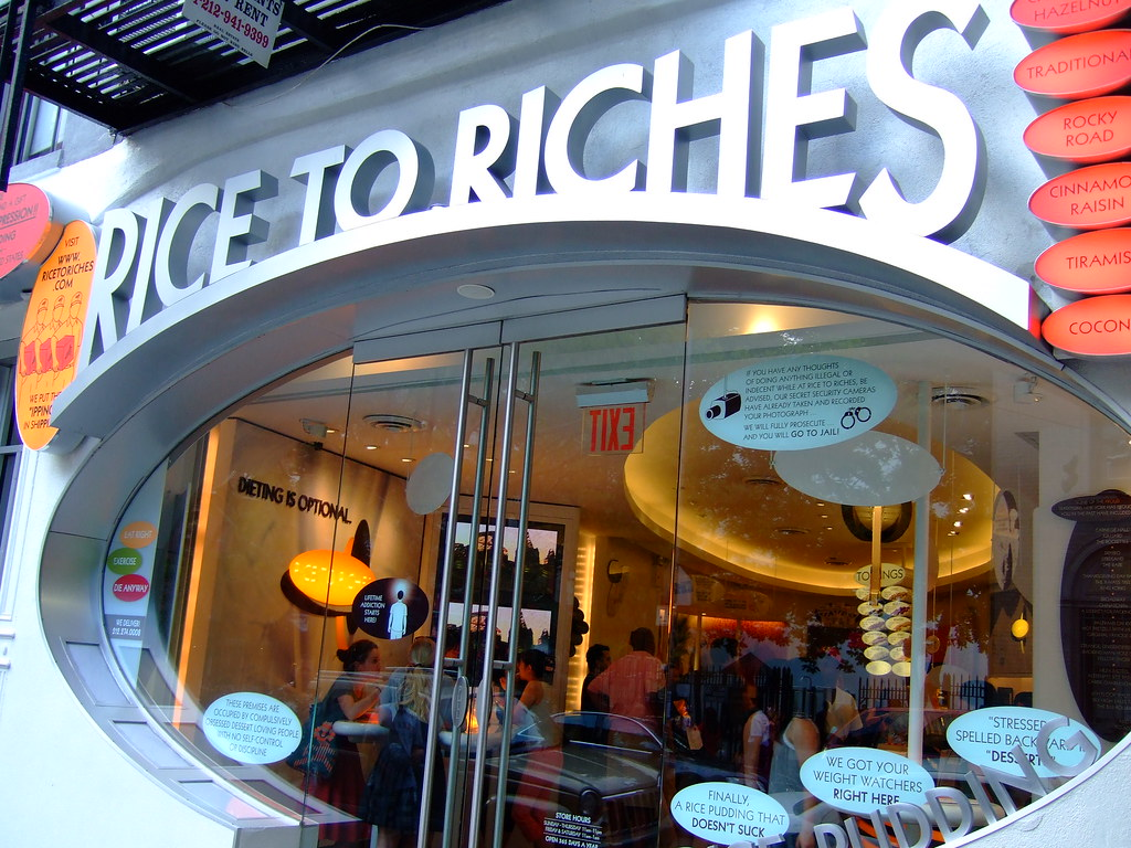 The Online Joke Shop Rice To Riches A Rice Pudding Store No Joke Think Of