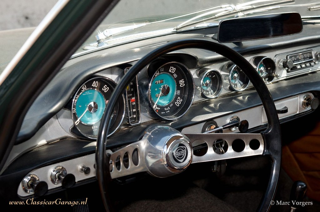 Pics Of Cars Wallpapers Volvo P1800 S Dashboard Marc Vorgers Flickr