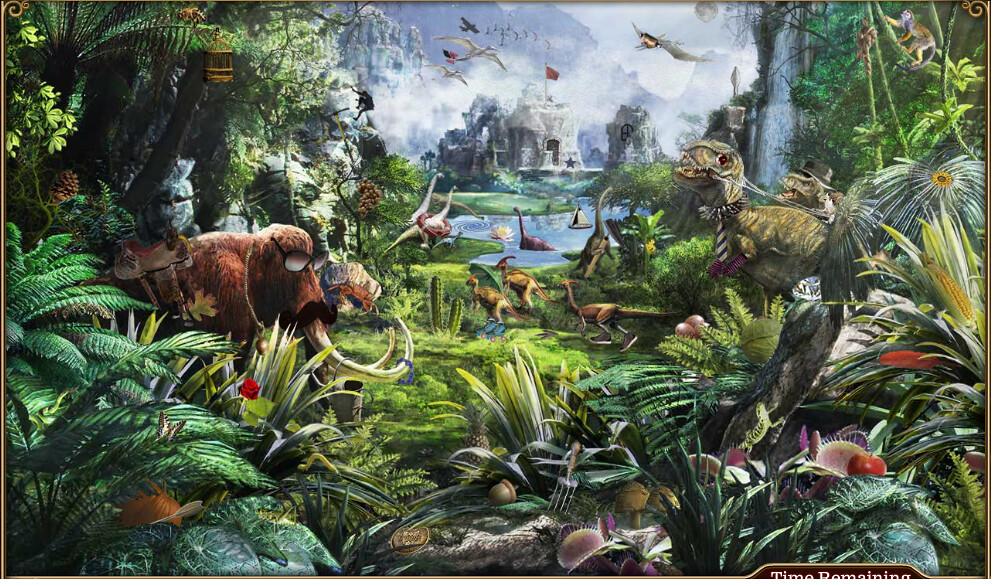 Hd Photos 3d Wallpaper Blitz Jun 2011 Prehistoric Jungle 62 Hidden Objects