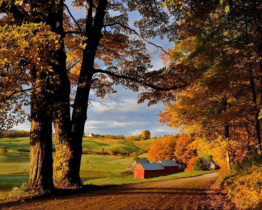 Vermont Fall Farm Wallpaper Jenne Farm In Fall Reading Vermont Joe Pellacore Flickr