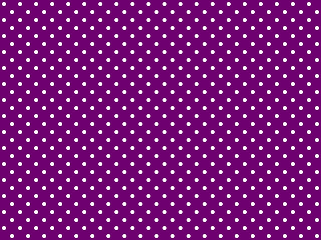 Wallpaper Black And White Damask Polka Dotted Background For Twitter Or Other Purple Flickr