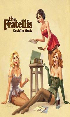 X Wallpaper Girl The Fratellis Costello Music Album Cover Lg Dare Wallpape