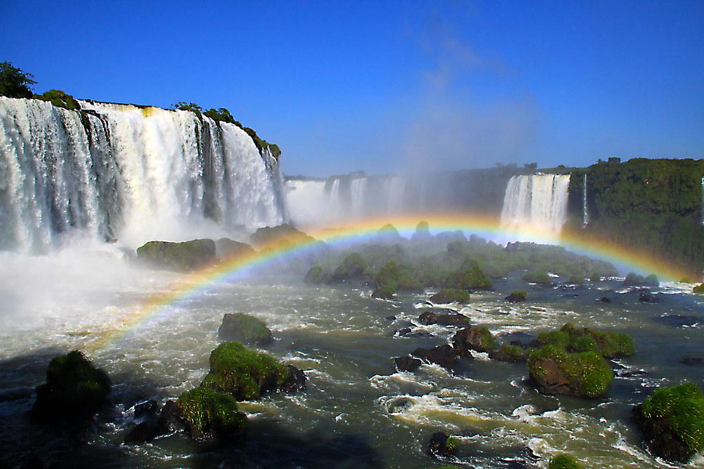 Iguazu Falls Brazil Wallpaper Iguazu Falls Iguassu Falls Or Igua 231 U Falls In Portuguese