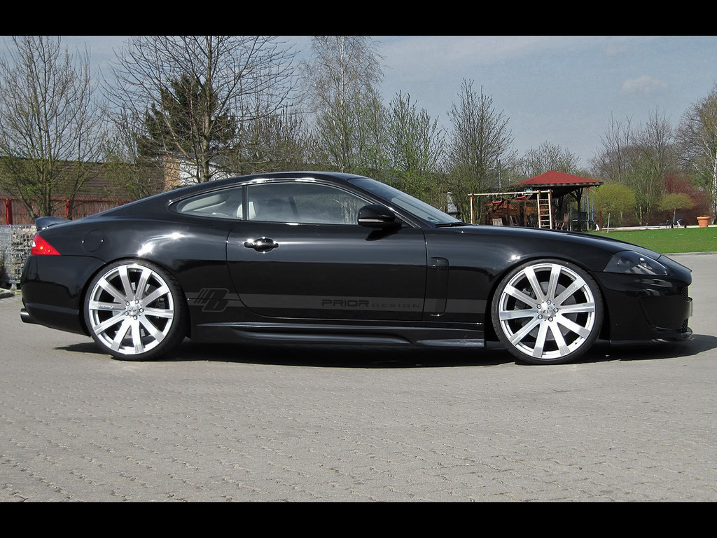 Ebay 3d Wallpaper Photo Jaguar Xk And Xkr Aston Martin Look Body Kit Prior