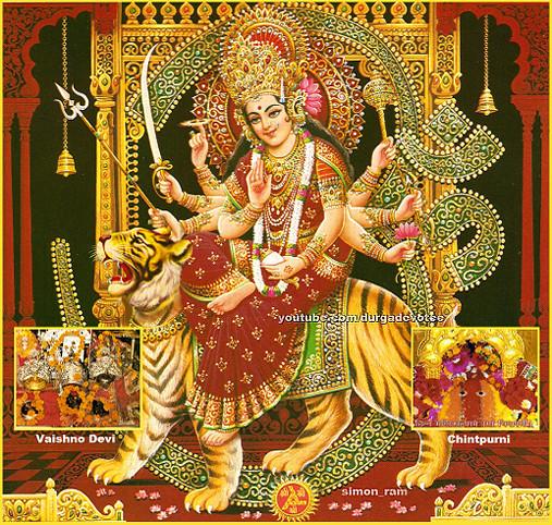 3d Wallpaper Jai Mata Di Jai Mata Di Www Youtube Com Durgadevotee Hinduism Flickr