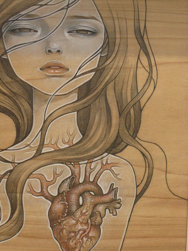 My Photo 3d Wallpaper My Dishonest Heart Audrey Kawasaki I Love How The Wood
