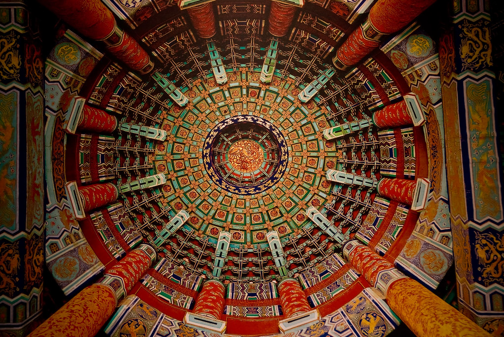 3d Interior Wallpaper Hd Temple Of Heaven Ceiling This Is The Ceiling Of The