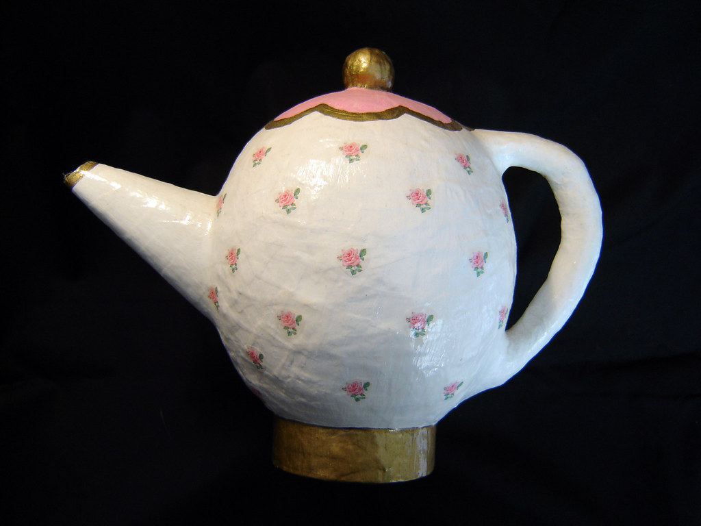 Making Tea In A Teapot Papier Mache Teapot I Made This Teapot About 3 Years Ago