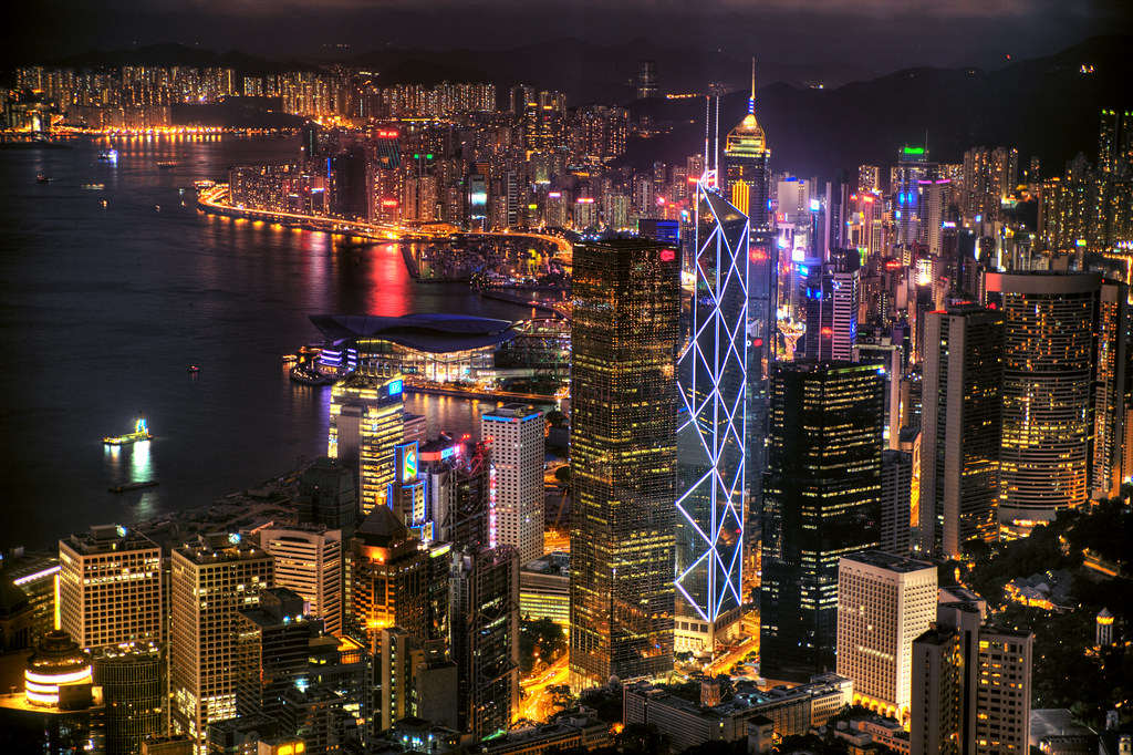 Good Night 3d Wallpaper Just Another Night Scene Of Hong Kong Is Either I Don T