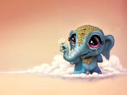 Cute Baby Ganesha Wallpapers Baby Ganesha Omar Amp Marina Flickr