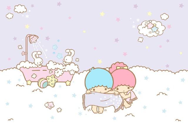 Hello Kitty 3d Wallpaper Little Twin Stars Hello Pixel Flickr