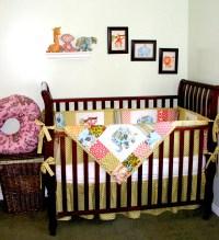 Jungle / Safari Baby Bedding quilt set   Handmade baby ...