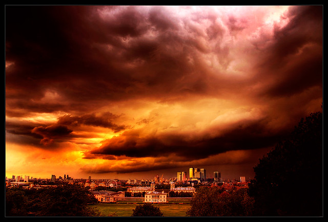 3d Wallpaper Free Wallpaper Apocalypse Economic Storms Over London This Was A