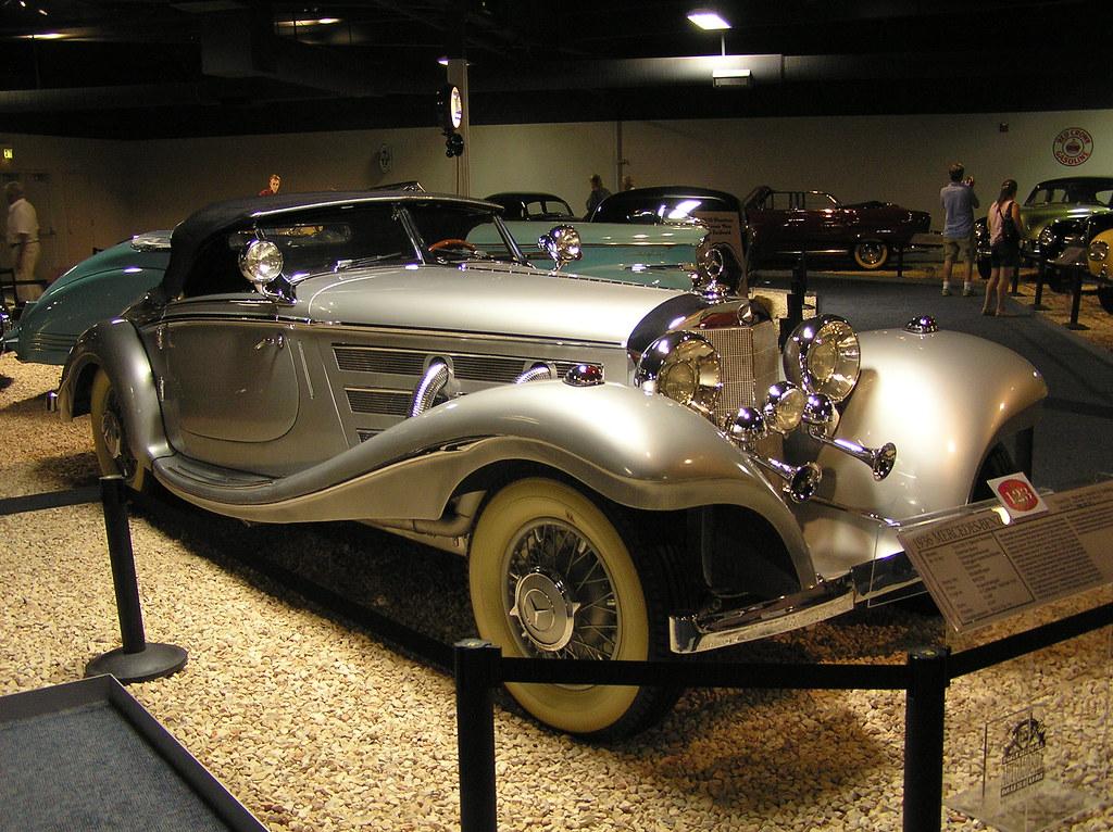 New Car Wallpaper 3d National Auto Museum Reno 1936 Mercedes Benz 500k Roads