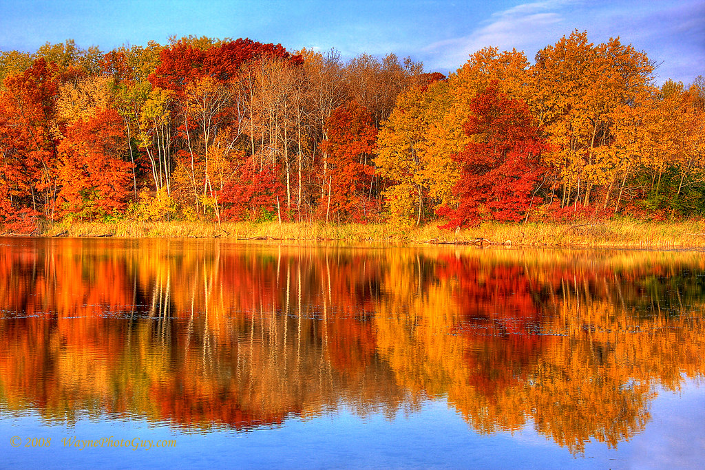 Central Park Fall Desktop Wallpaper Autumn Reflections Minnesota Autumn This Image