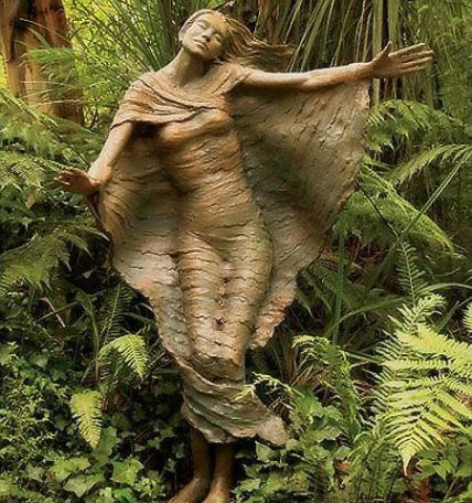3d Wallpaper Australia Magical Forest Wood Statues The Author Of These
