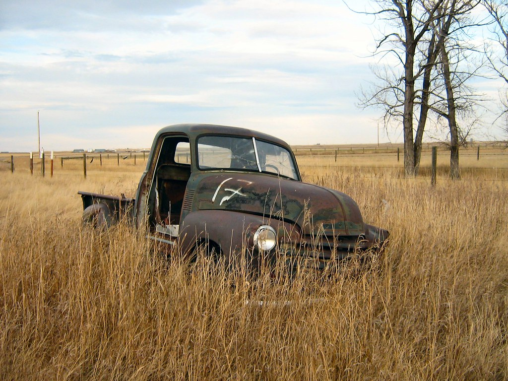 Classic Car Wallpaper 57 Chevy Rusty Old Truck 1950 Chevrolet Rusty Old Truck 1950