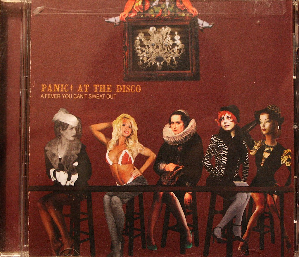 Fever Girl Wallpaper Panic At The Disco A Fever You Can T Sweat Out 1