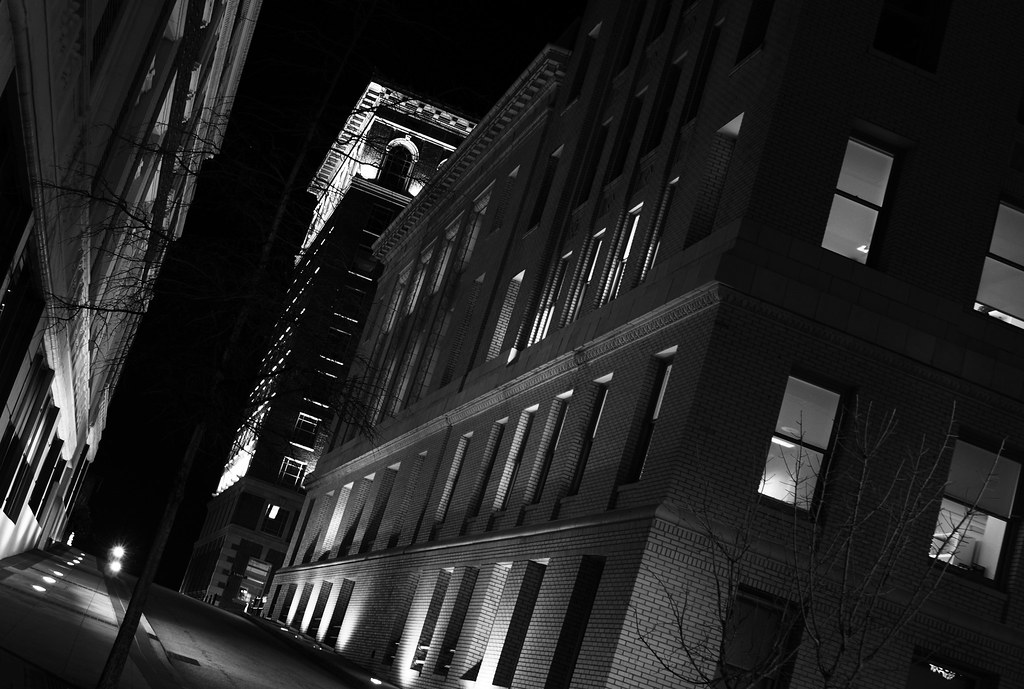 3d Wallpaper New York City Film Noir At West Court Street Version 2 Without Using