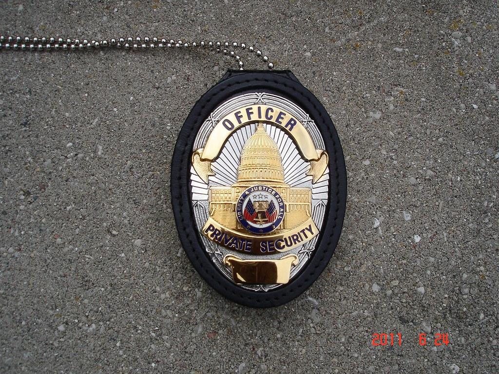 Police Officer Wallpaper Hd Private Security Officer Badge 2 Vessex Flickr
