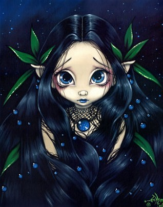 Crying Girl Cartoon Wallpaper Jasmine Becket Griffith Gothic Fairy Lovely Is The Night