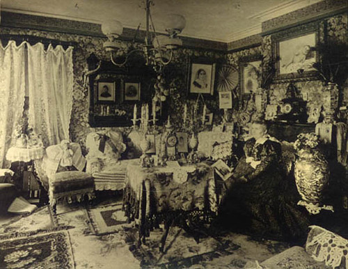 3d Wallpaper For Bedroom Walls Parlor 1880 S Gaswizard Flickr