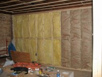 Living Room - 3 | Insulation means sheetrock can't be far ...