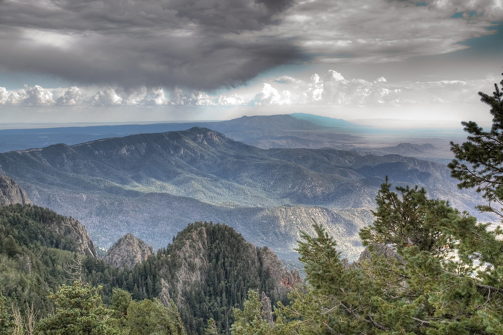 3d Scenery Wallpaper Manzano Mountains Albuquerque Doug Aghassi Flickr