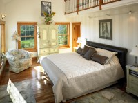 39280 Master Bedroom with loft in Cape Cod style Lindal ho ...